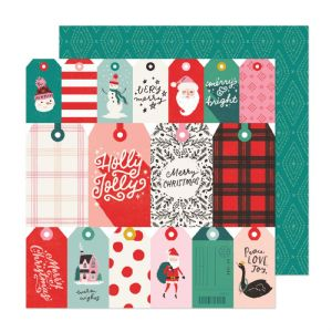 Crate - Hey Santa - Be Jolly 12 x 12 Paper